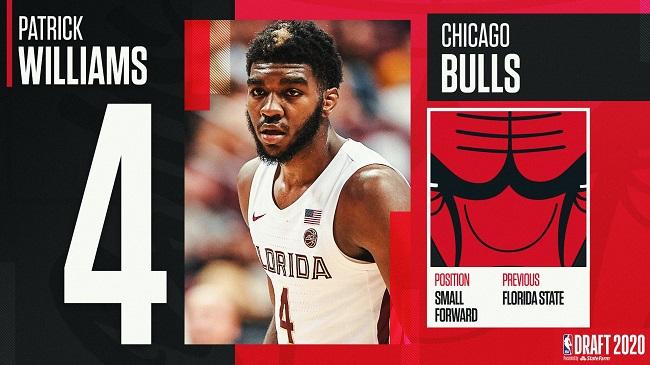 2020年NBA选秀第4顺位:帕特里克-威廉姆斯