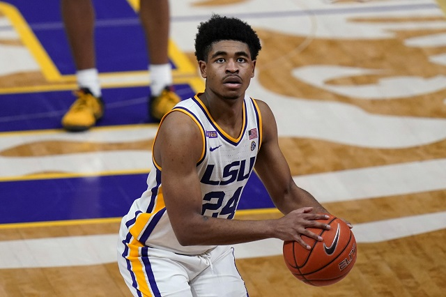 2021年NBA选秀热门球员卡梅伦-托马斯(Cameron Thomas)