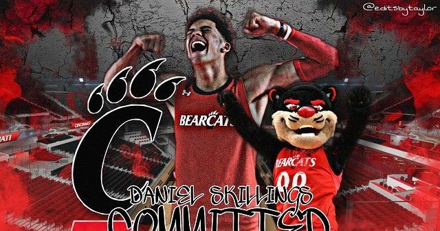 四星得分后卫丹尼尔-斯基林斯(Daniel Skillings)承诺加盟辛辛那提大学